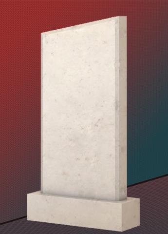 Памятник M3516 из мрамора