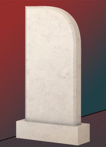 Памятник M3552 из мрамора