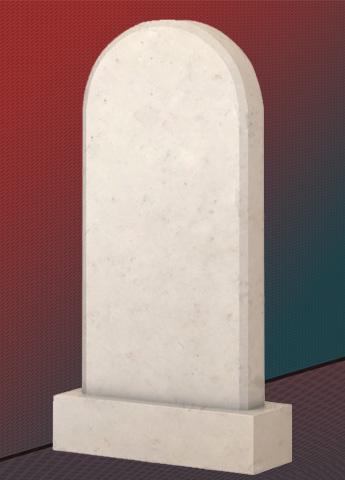 Памятник M3564 из мрамора