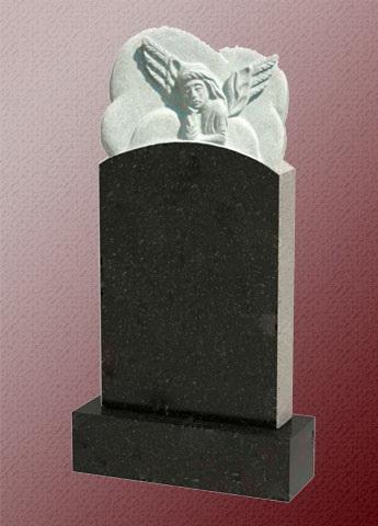 Памятник с ангелом А1 из гранита