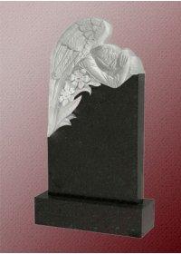 Памятник А2 с ангелом из гранита