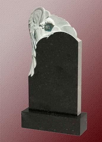 Памятник А7 с ангелом из гранита