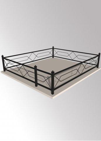 Ограда 32 металлическая