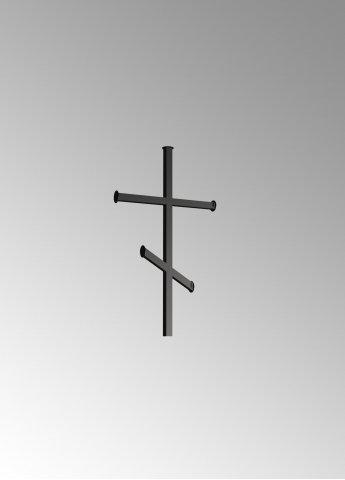 Крест простой металлический