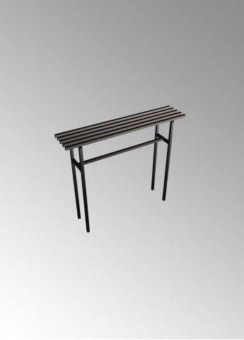 Скамейка C1 металлическая