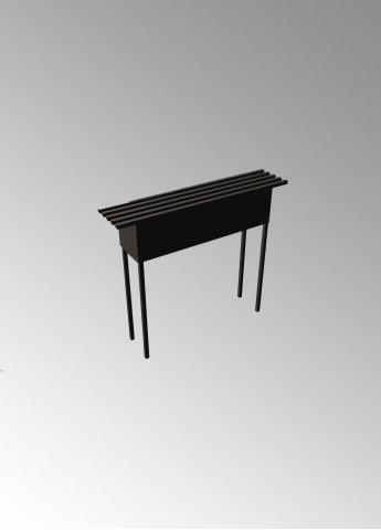 Скамейка C3 с ящиком