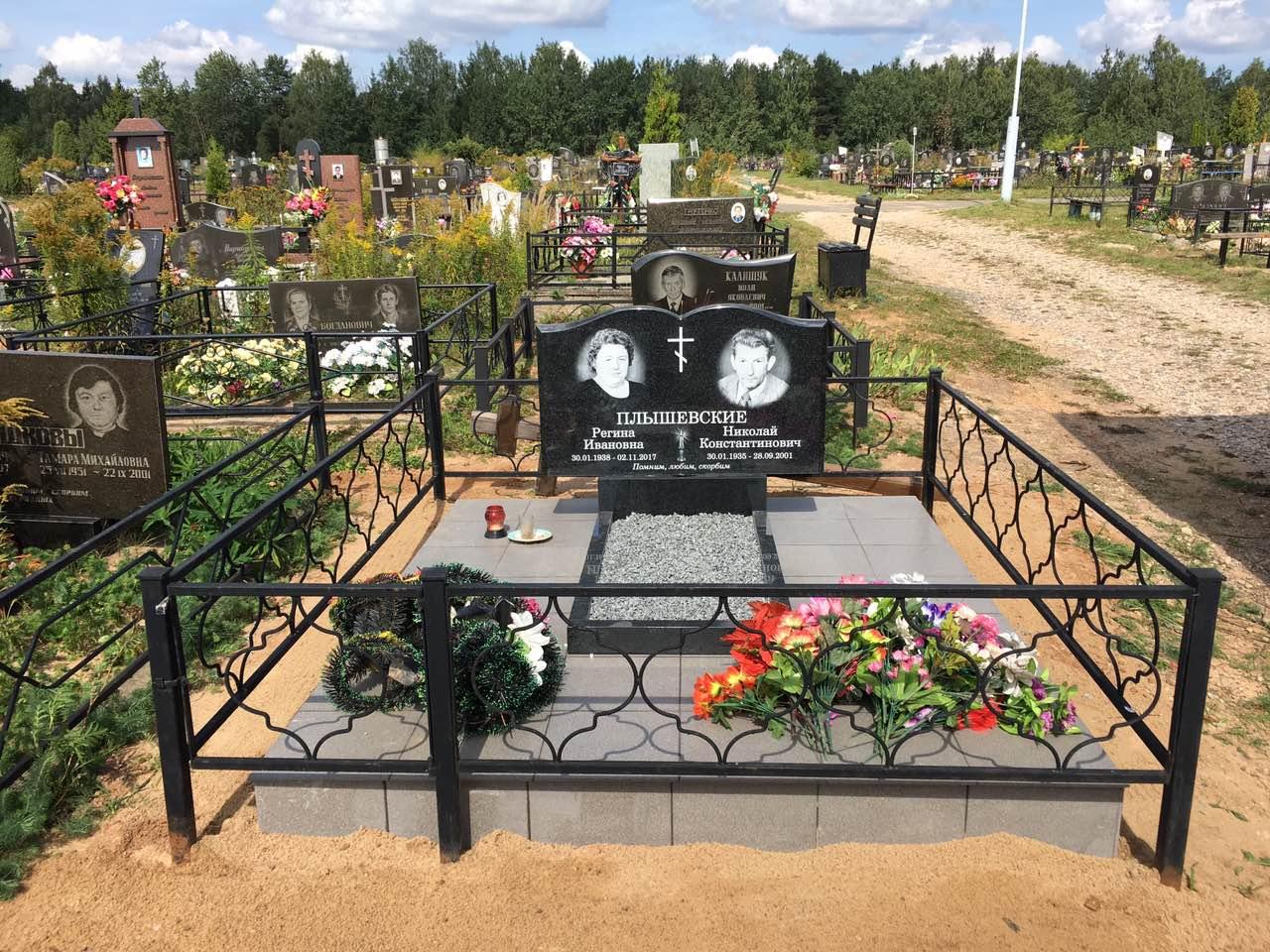металлические ограды на могилу